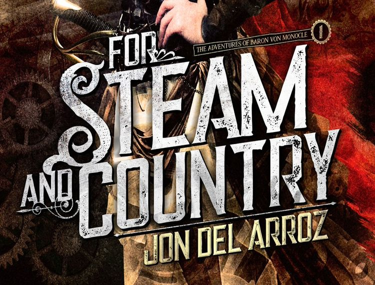 literature writer interviews  for steam and country jon del arroz novel