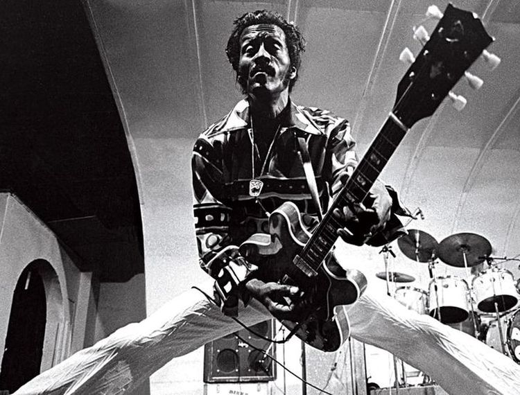 music vintage stuff  chuck berry guitar rock rock and roll