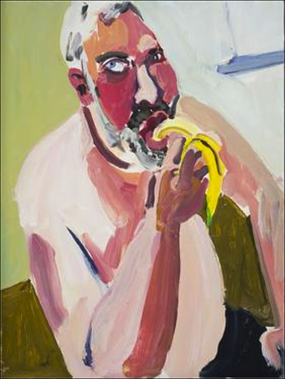 Chantal_Joffe Dan Eating a Banana-does
