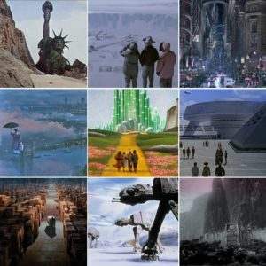 Matte Paintings on the Big Screen – How Indiana Jones and Other Big Movies Replaced Reality with Paintings