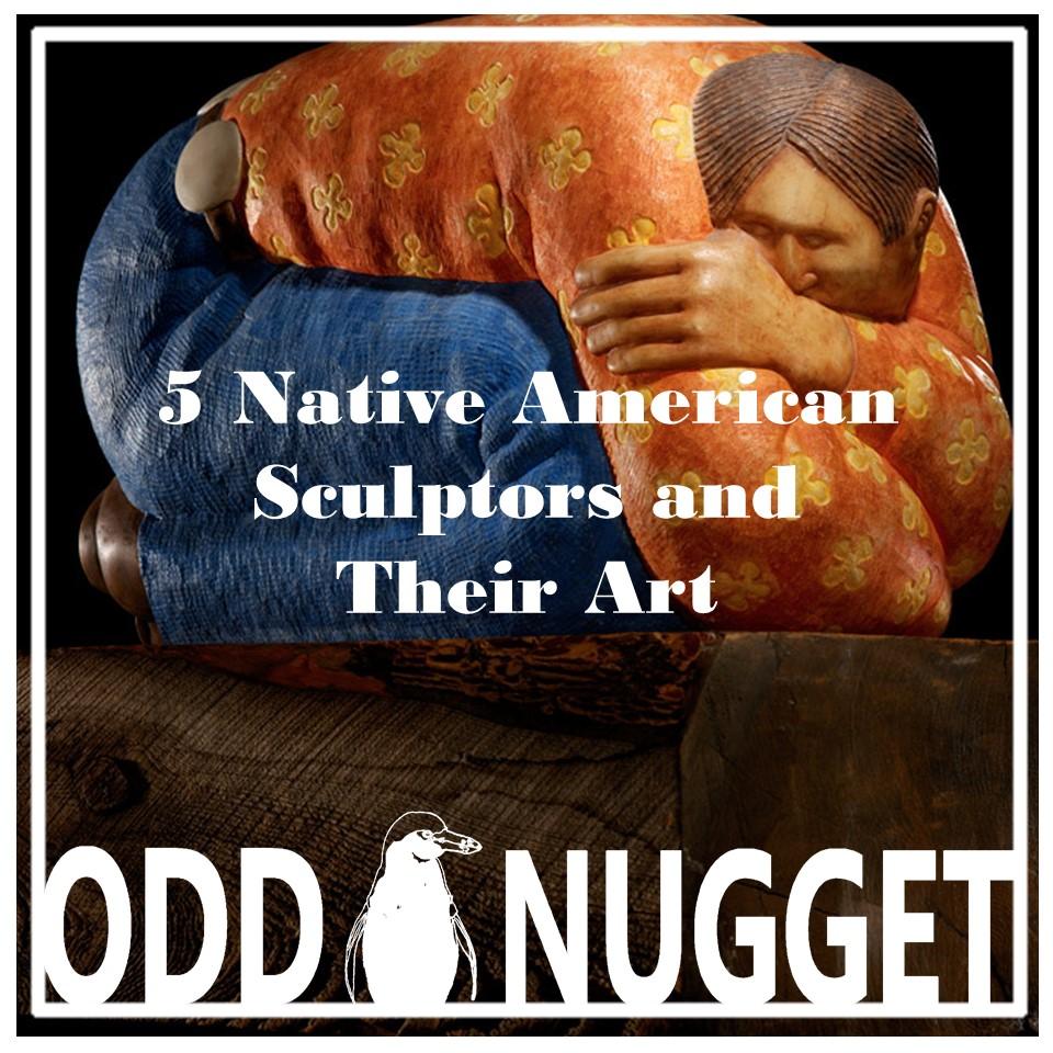 native american sculptors banner