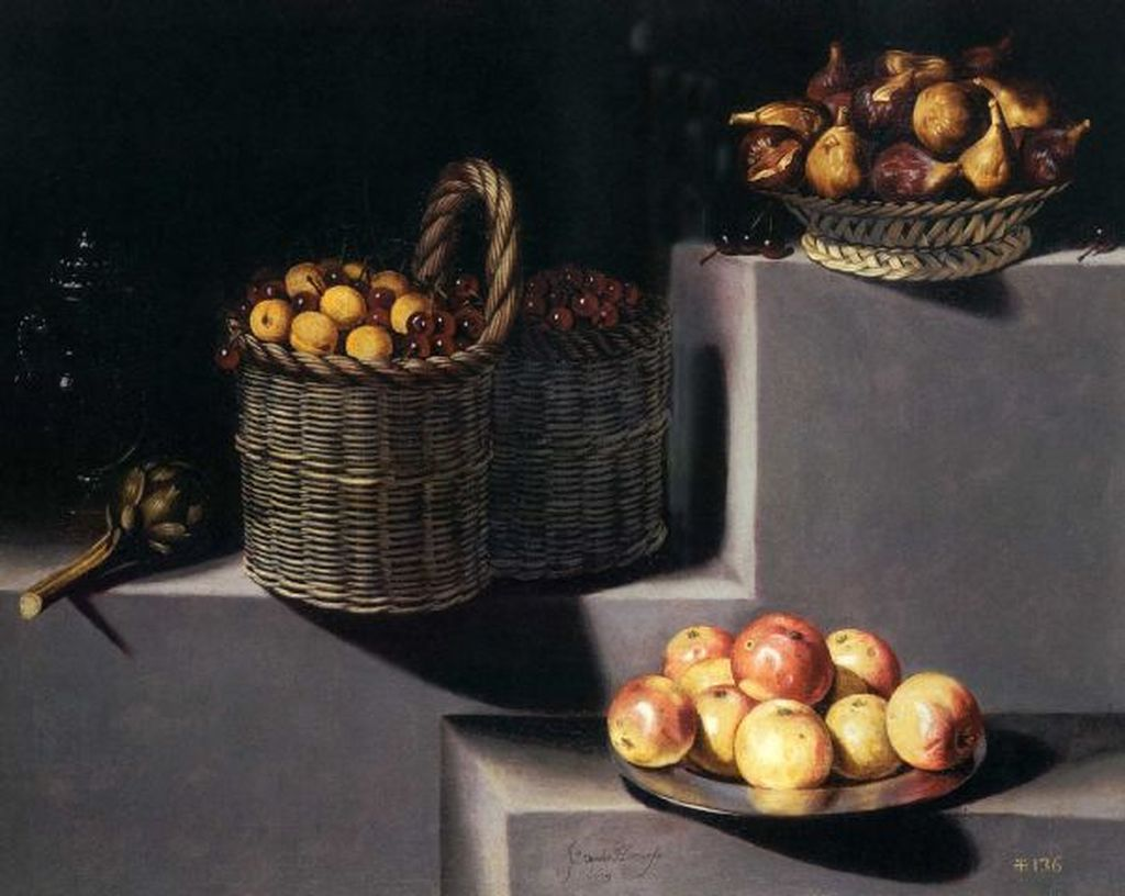 Juan_van_der_Hamen_-Still_Life_with_artichokes,_figs,_cherries_peaches_and_apples,_1629-done