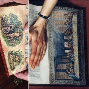 The Hidden Art of Fore-Edge Paintings
