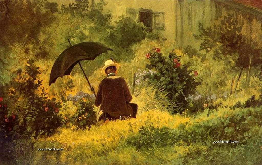 780 Carl Spitzweg – 4 The Botanist-done