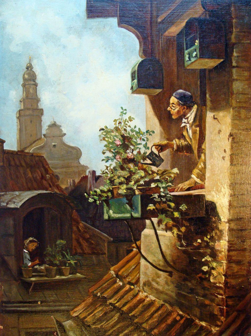 Carl_Spitzweg_-_Im_Dachstübchen_(v.1849)-done