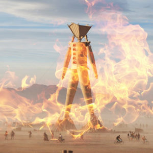 10 Years of 'Burning Man' Temples