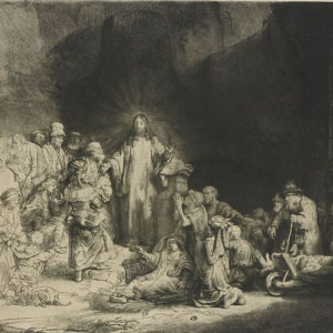 8 Epic Etchings by Rembrandt