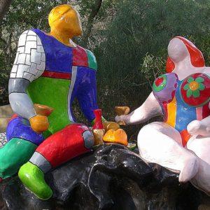 Niki de Saint Phalle's Monumental Tarot Garden