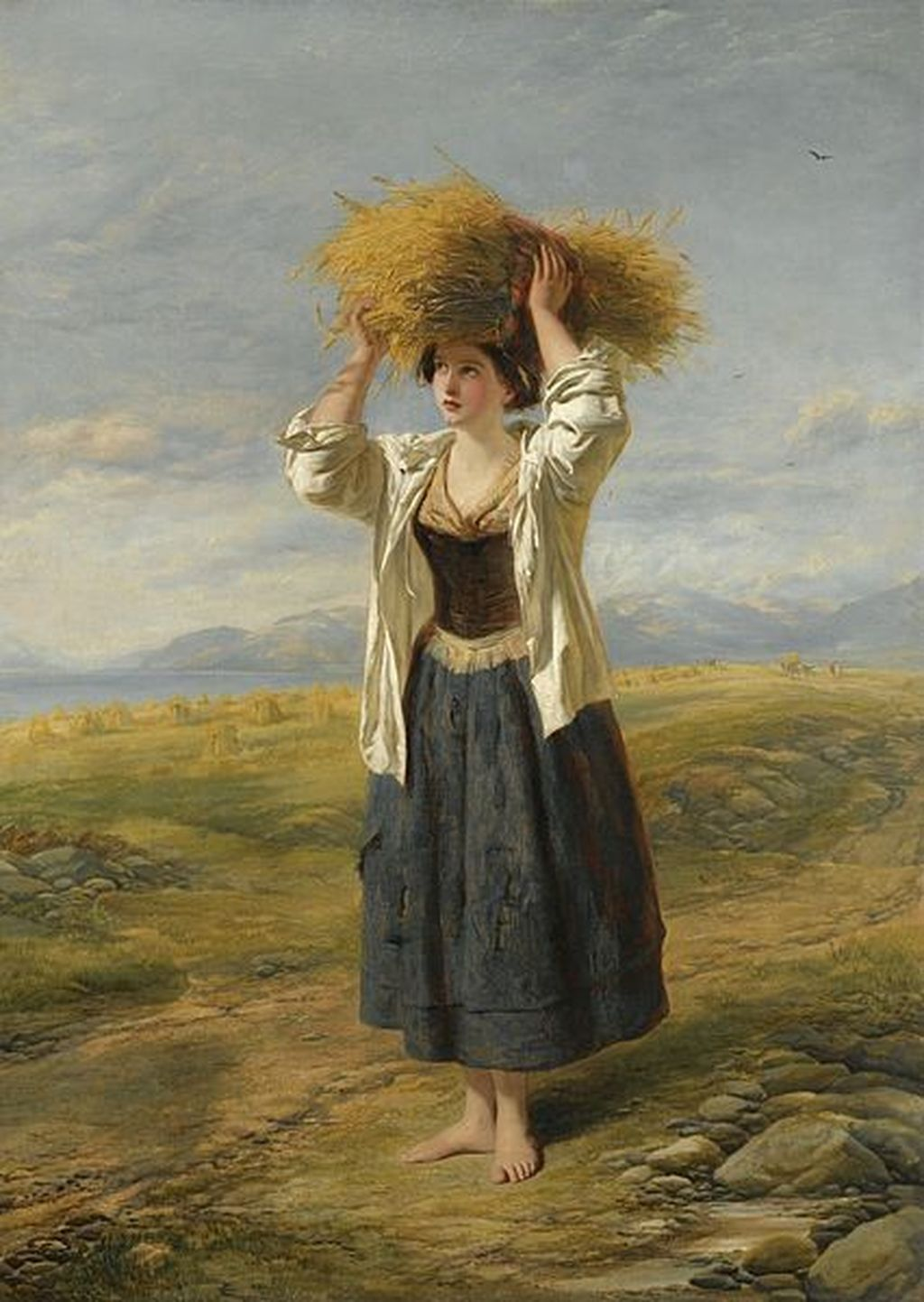'The_Little_Gleaner'_by_William_Powell_Frith_and_Thomas_Creswick-done