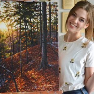 Brooke Cormier Paints Daybreak, Bears and Beautiful Places @bcormier_art