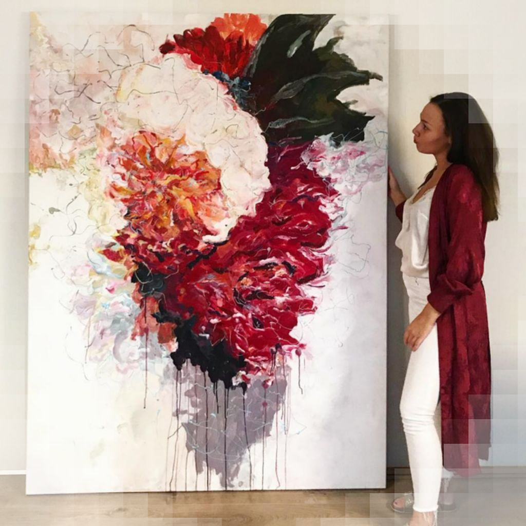 art  abstract abstractart awesome beauty canvas creative instaart newart paint painter painting