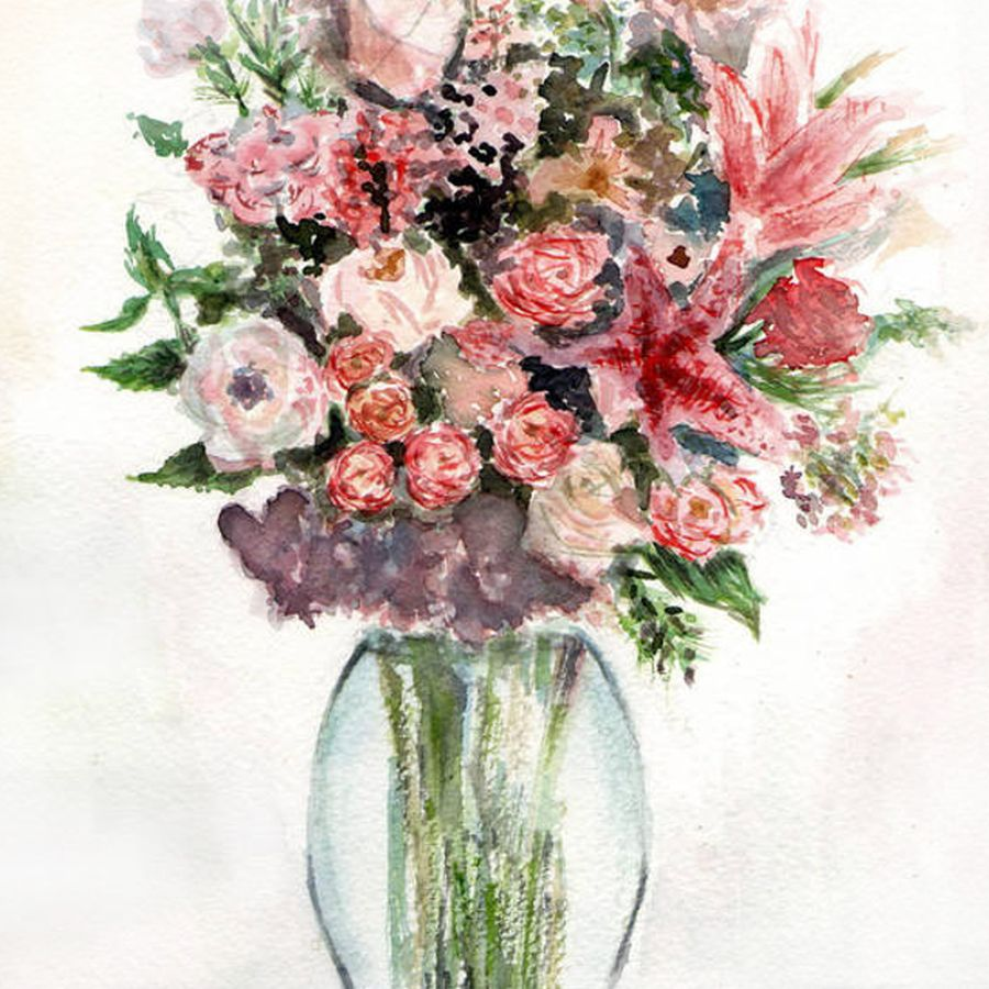 art  colorful creative creativity cute design floral flowers paint painting refreshing smile watercolor