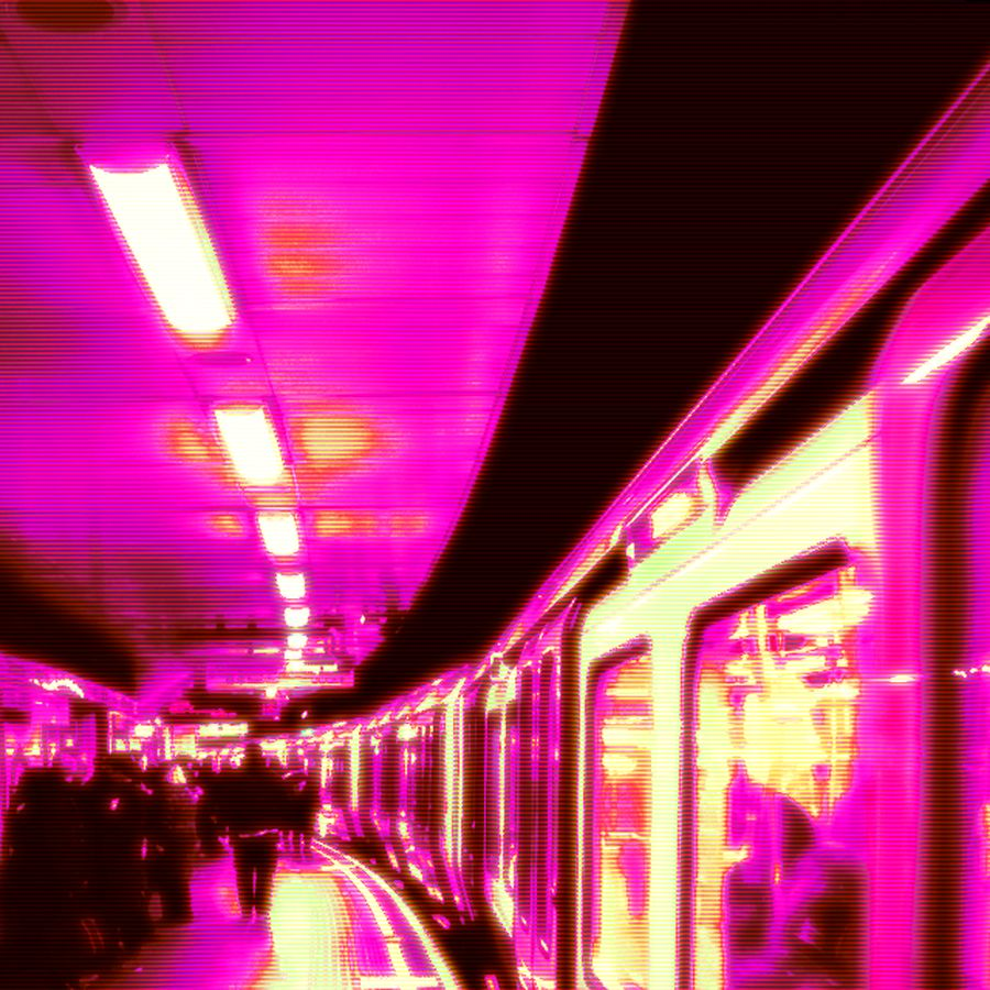 retrowave subway