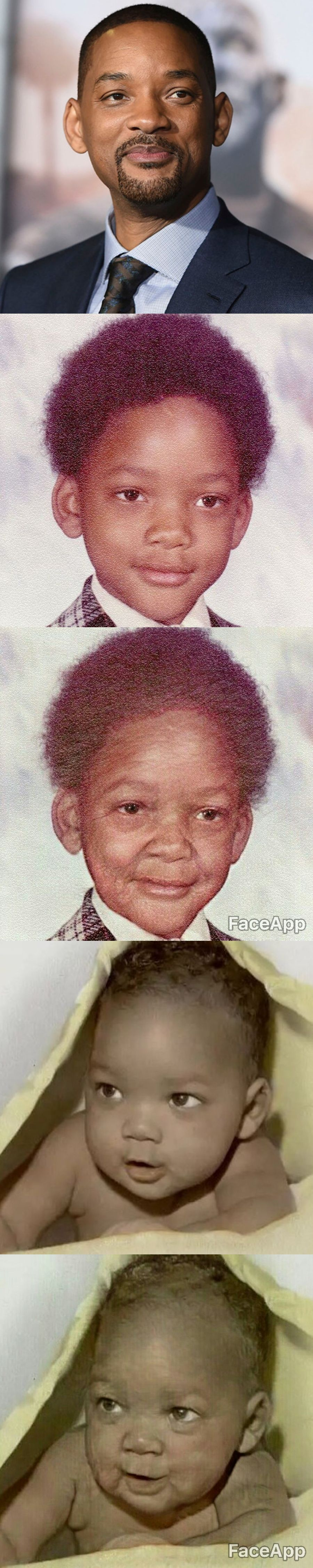 will smith faceapp