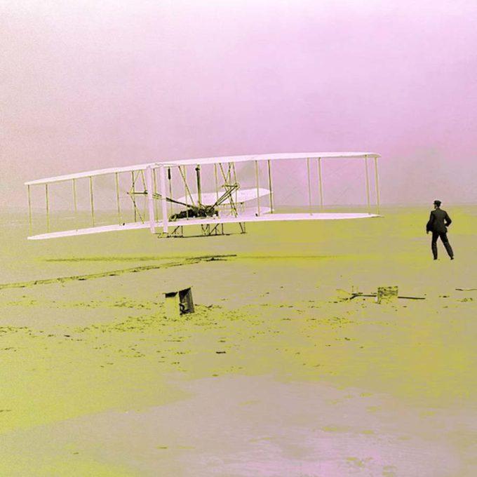 Odd first passenger planes