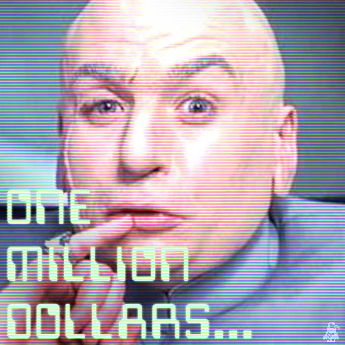 dr evil one million dollars