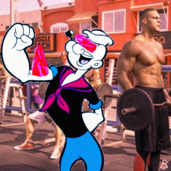 ruby popeye muscles