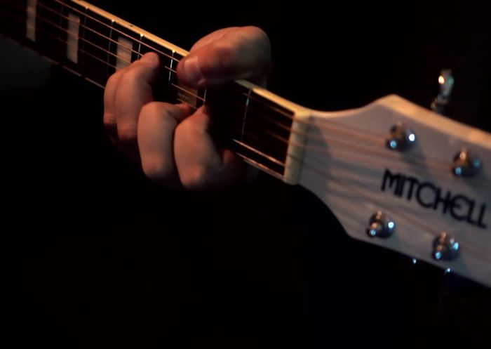 rotoscope mitchell guitar
