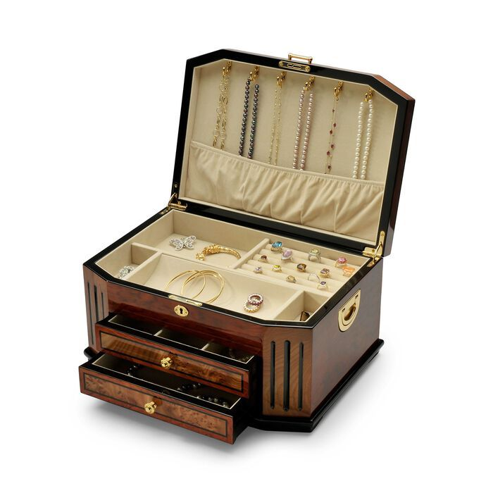 ross simons wooden jewelry box