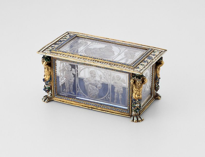 Casket with the Three Theological Virtues